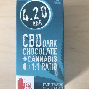 420 Bars Dark Chocolate CBD Bars