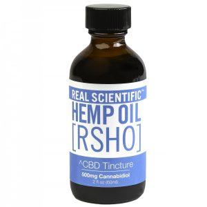 Blue Label CBD Hemp Oil Tincture (500mg CBD) 2 oz