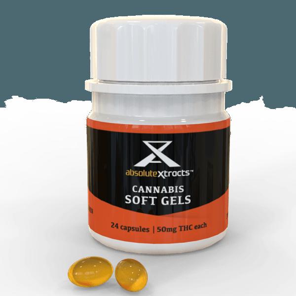 High THC Cannabis Soft Gels