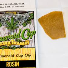 Rosin - Emerald Cup Concentrates 1g