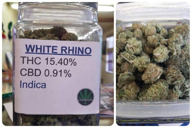 White Rhino Strain