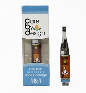 Cartuș de vape bogat CBD - Îngrijire după design
