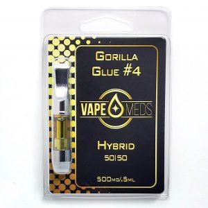 Gorilla glue #4 Vape Oil Cartridge
