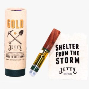 Jetty Gold Super High THC Vape Cartridges