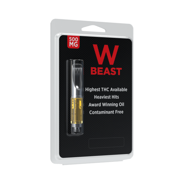 W Beast High THC with Terpenes Vape Cartridge