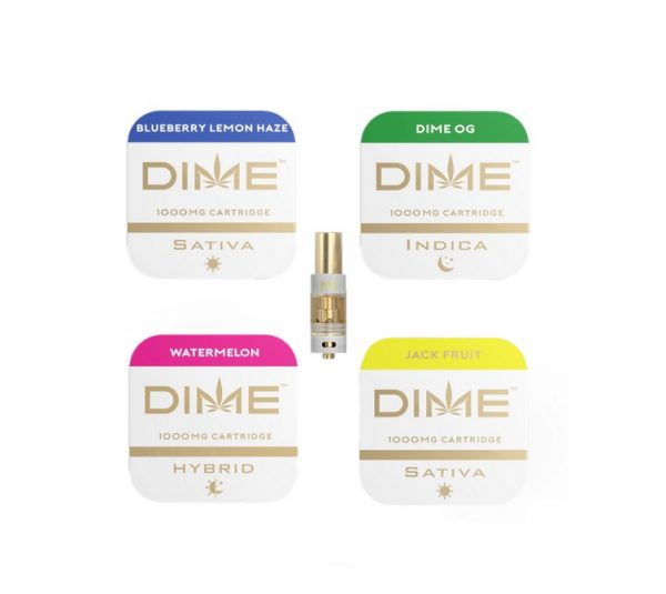 DIME Vape Cartridge 95% THC
