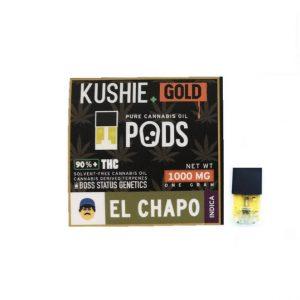 Kushie Gold Super High Potency JUUL Pods
