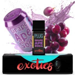 Buy PLUGPlay Exotics Grape Ape Vape 1G Cartridge