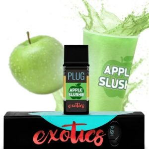 PLUGPlay Exotics Apple Slushie Vape Cartridge