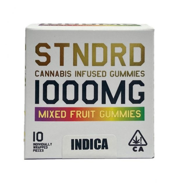 Buy Cannabis Infused Mixed Fruit Gummies