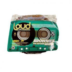 Buy Loud Edibles THC Infused Brownie