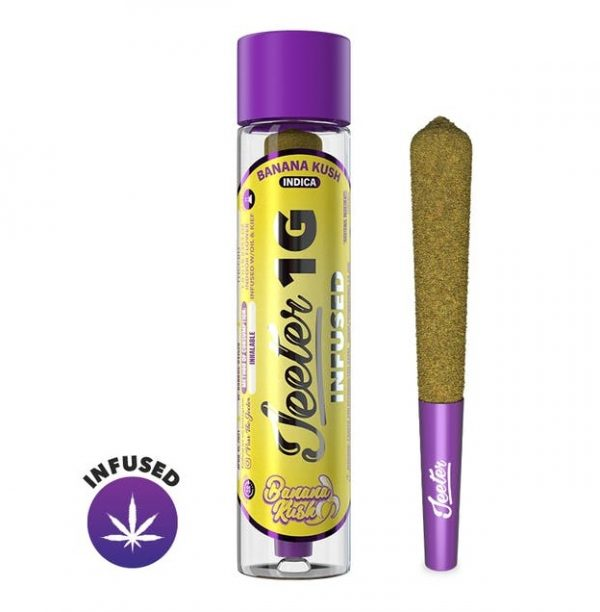 Banana Kush Jeeter Joint Infused Pre Roll