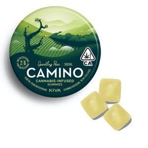 Buy Camino Sparkling Pear CBD Social Gummies