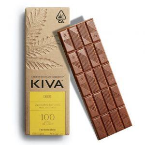 Kiva Churro Milk Chocolate Bar - 100mg