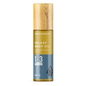 Releaf Body Oil 1 3 CBD & THC Europe