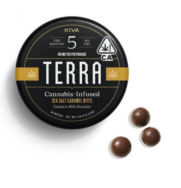 Terra Sea Salt Caramel Bites 100mg