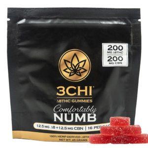 3Chi Delta-8-THC CBN & CBC Comfortably Numb Gummies