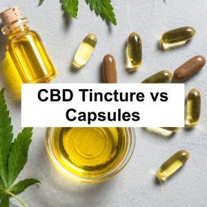Buy Cannabis Capsules & Tinctures Online