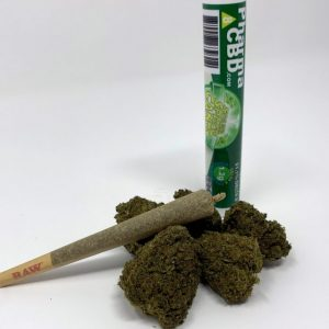 Delta-8-THC Infused Sour Space Candy Pre-Roll
