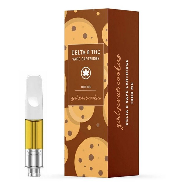 Girl Scout Cookies Delta 8 THC Vape Cartridge