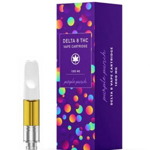 Purple Punch Delta 8 THC Vape Cartridge
