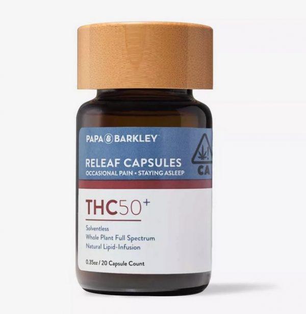 Buy THC50 Releaf Capsules